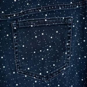 Charter Club Star Print Lexington Straight Jeans